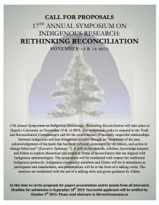 Symposium: Rethinking Reconciliation