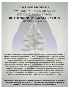 Symposium: Rethinking Reconciliation
